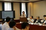 大阪大学理事と在阪報道関係者の懇談会